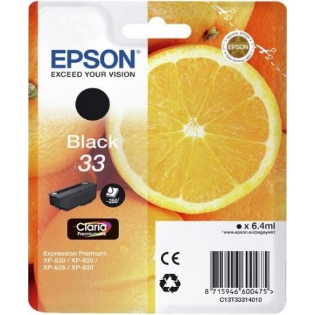 Epson Oranges 33 Black