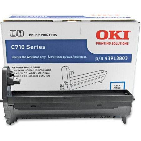 Brand New OKI 43913803 Cyan...