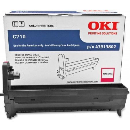 OKI 43913802 Magenta Image Drum for C710